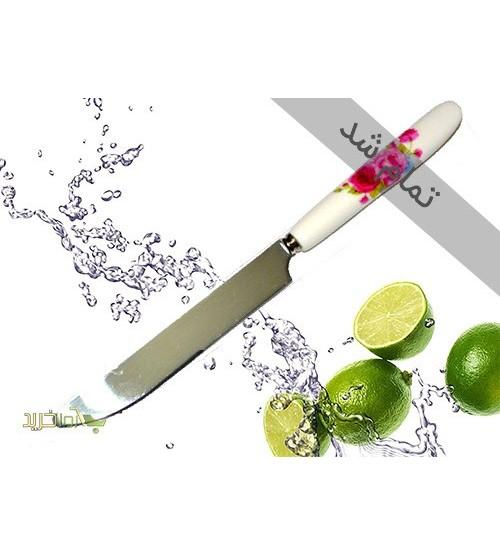 چاقو میوه خوری دسته سرامیکی(ست 6 عددی)