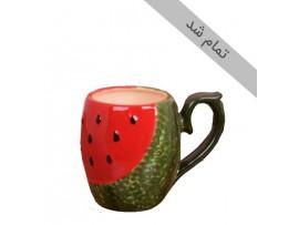 لیوان طرح هندوانه