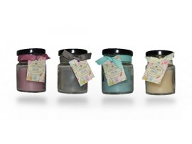 شمع عطری در 4 رایحه متفاوت