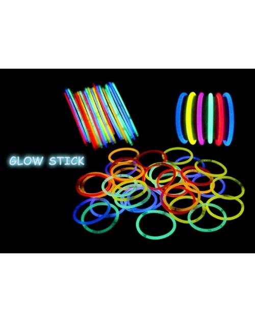 دستبند نورانی glow(بسته 5 عددی)