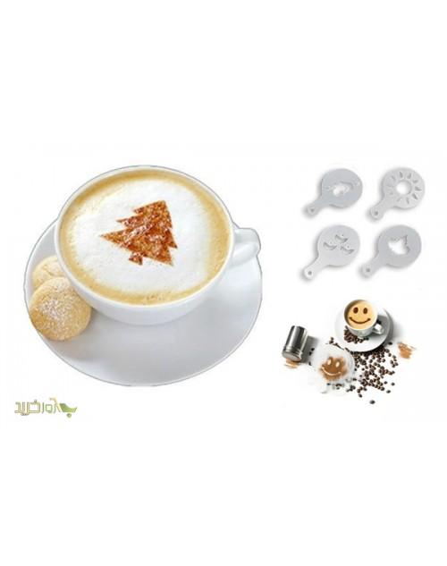 شابلون طراحی قهوه (16 طرح متفاوت)